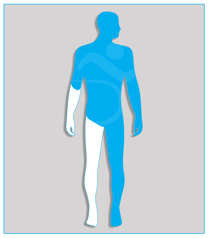 2SX (no protesi) Perdita anatomica parziale di un arto superiore con conservazione di almeno due terzi dell'avambraccio.4SX (nessuna funzionalità di uno degli arti inferiori)Limitazione funzionale per esiti stabilizzati di lesioni di qualsiasi natura che non consenta il regolare uso dei pedali dell'acceleratore e del freno (per minorazione a destra) oppure l'uso regolare e continuo del pedale della frizione (per minorazione a sinistra) - Attenzione: se l'esame per il conseguimento della patente di guida è sostenuto con veicolo munito di cambio automatico, la patente sarà valida soltanto per tali veicoli.