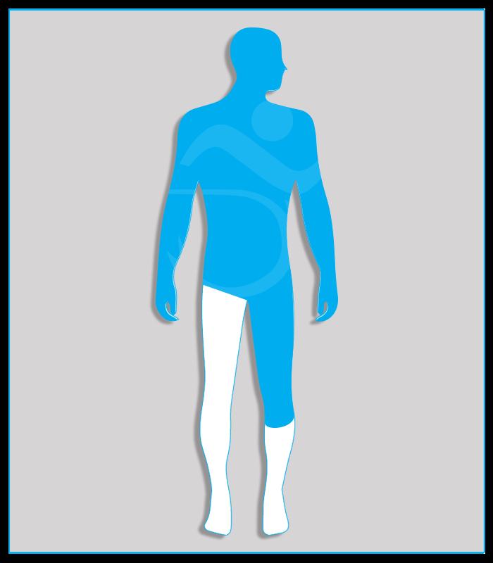 4SX (nessuna funzionalità di uno degli arti inferiori)Limitazione funzionale per esiti stabilizzati di lesioni di qualsiasi natura che non consenta il regolare uso dei pedali dell'acceleratore e del freno (per minorazione a destra) oppure l'uso regolare e continuo del pedale della frizione (per minorazione a sinistra) - Attenzione: se l'esame per il conseguimento della patente di guida è sostenuto con veicolo munito di cambio automatico, la patente sarà valida soltanto per tali veicoli.5DX (limitata funzionalità di un arto inferiore)Limitazione funzionale di un arto inferiore, che consenta l'azionamento regolare e continuo del pedale della frizione (per l'arto sinistro) o dell'acceleratore (per l'arto destro).